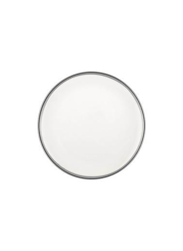 The Mia Halos Pasta Tabağı 6 Parça Gümüş Gümüş